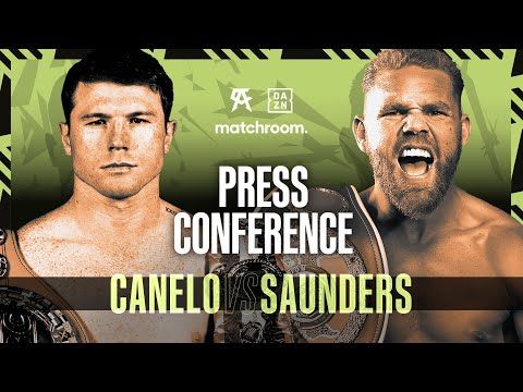 Canelo Alvarez vs Billy Joe Saunders press conference