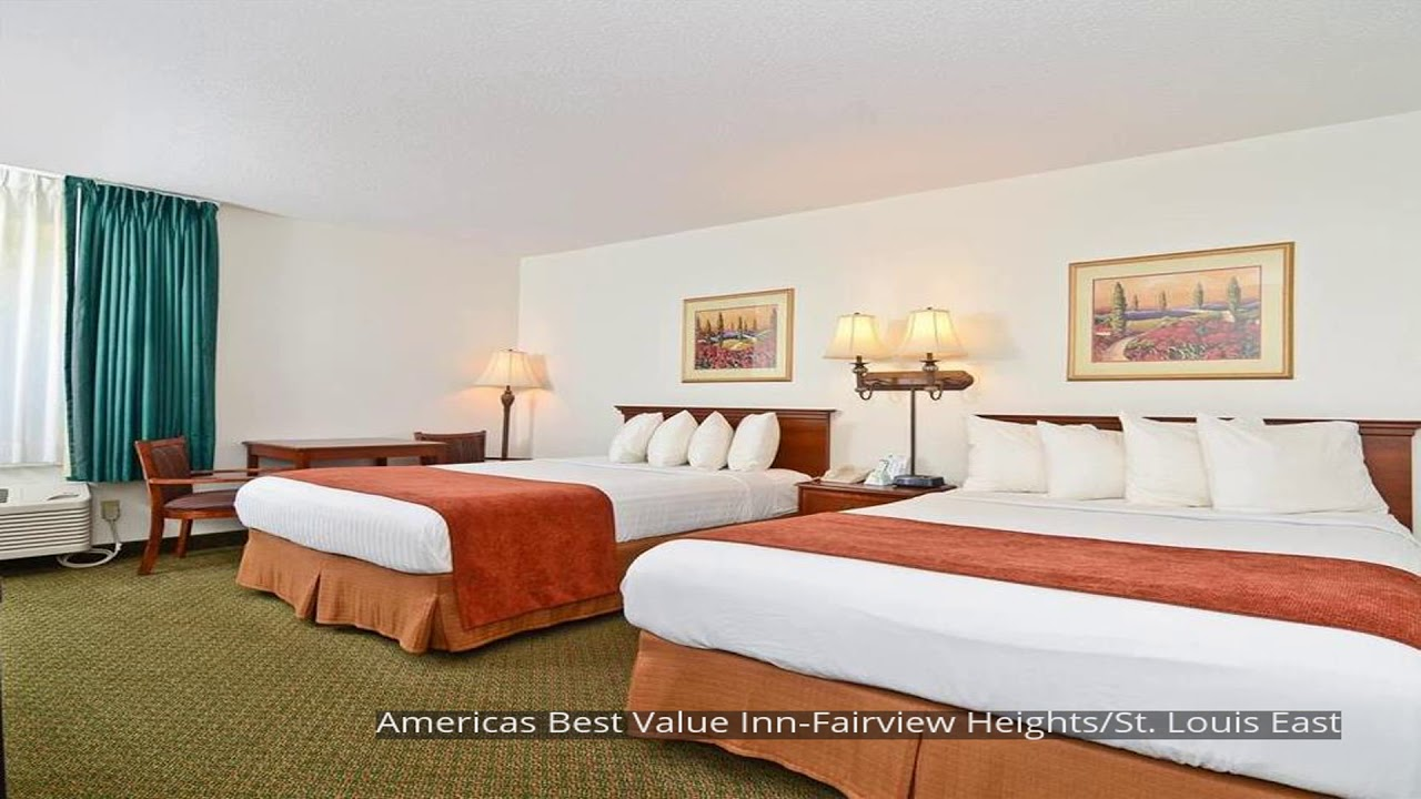 Americas Best Value Inn Park Falls Americas Best Value Inn Fairview Heights St Louis East Youtube