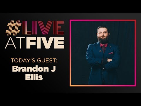 Broadway.com #LiveatFive with Brandon J. Ellis of THE PLAY THAT GOES WRONG National Tour