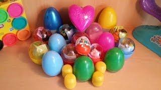 23 Surprise Eggs Unboxing Kinder Surprise ♥ Health Barbie, Maxi Big Lego Egg, Disney