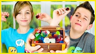 EDIBLE JEWELS AND DIAMONDS  CANDY DIY WITH 1 INGREDIENT! SUPER EASY AND FUN RECIPE