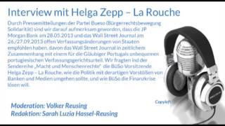 Interview mit Helga Zepp -- La Rouche