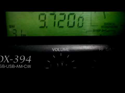 SLBC Sri Lanka Broadcasting Corp. 9720 KHz