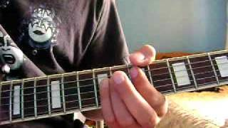 Calling Dr. Love by Kiss Rhythm Guitar Lesson
