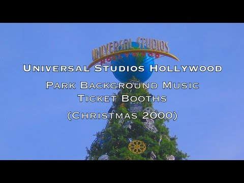 Universal Studios Hollywood - Park Background Theme Music Score (2000)