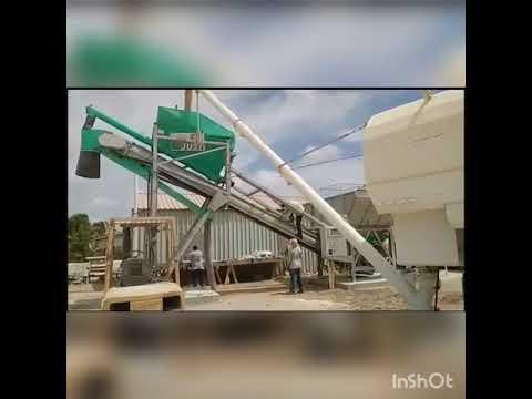 Stark Cement Logistic Equipment //  Big Bag Breaker + HSilo + Concrete Plant