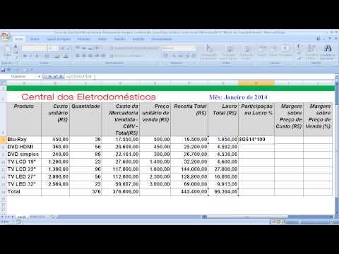 Curso de Excel Planilha de cotação de preços Escolha automática do menor custo Passo a passo de YouTube · Duração:  12 minutos 42 segundos