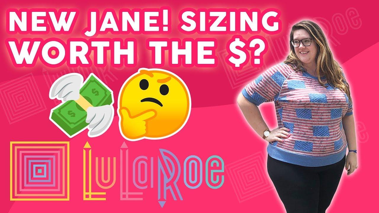 ca087bd0c4bac LuLaRoe Jane Sweatshirt! Sizing