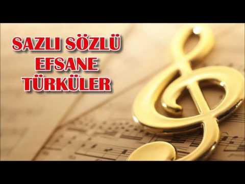 Sazlı Sözlü Efsane Türküler