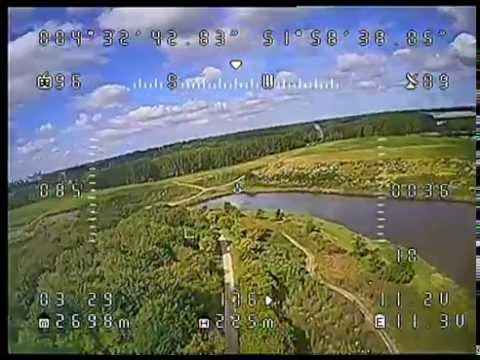<b>Sony Effio</b>-V 800TVL FPV camera first flight - YouTube