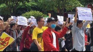 BIỂU TÌNH NGÀY 10/6/2018: CÓ BIẾN LỚN tại SÀI GÒN- Hàng Triệu người phản đối ĐẶC KHU và AN NINH MINH