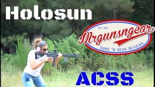 holosun 503g micro dot with primary arms acss reticle review hd