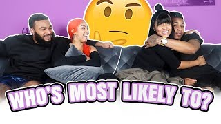 WHO'S MOST LIKELY TO?! FT DDG, QUEEN, & CLARENCE