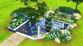 TINY UNDERGROUND HOUSE 🌿 | The Sims 4 | Speed Build