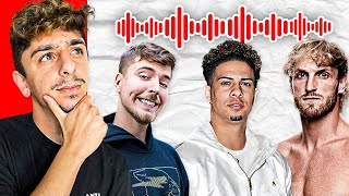Guess the YouTuber Using ONLY Their Voice - Challenge