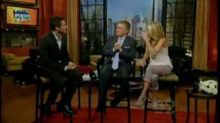 jake gyllenhaal on live with regis kelly 5 26 10 part 2