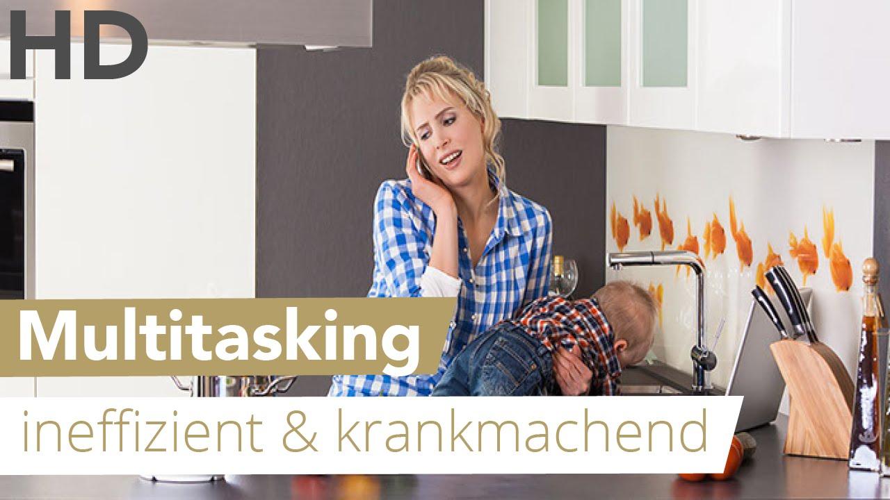 Multitasking - ineffizient & krankmachend // Gesundheit, Frauen, Medizin