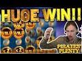Pirates Plenty Big win - HUGE WIN on Casino Games from Casinodaddy LIVE STREAM