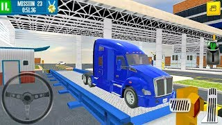Cargo Crew Port Truck Driver #3 Freight Box Truck - Android Gameplay FHD