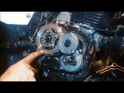 Cómo cambiar los discos de clutch de tu moto 125cc 150cc 160cc 180cc 200cc 220cc