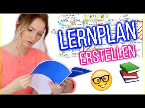LERNPLAN ERSTELLEN - SO schaffst auch DU die 1! TheBeauty2go