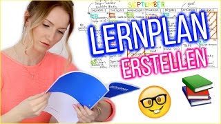 LERNPLAN ERSTELLEN - SO schaffst auch DU die 1! TheBeauty2go thumbnail