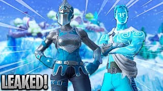 NEW FORTNITE WINTER SKINS! FORTNITE v7.10 UPDATE & ALL SKINS LEAKED! (NEW FORTNITE SKINS UPDATE)