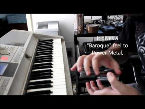 Heavy Metal Keyboard Lesson 4 (How to play like Bob Katsionis from Firewind)