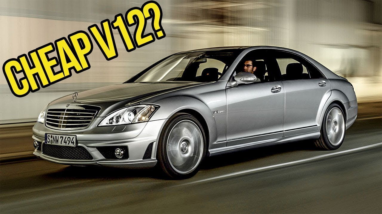 You can buy a crazy 500 hp v12 mercedes benz for the price for Mercedes benz v12 price