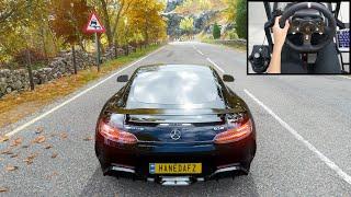 Mercedes AMG GT R - Forza Horizon 4 | Logitech g920 gameplay