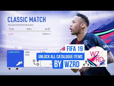 UNLOCK ALL FIFA 19 CATALOGUE FILES + FIXED BOOTS & MORE