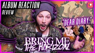 "NO F*CKING WAY! - Bring Me The Horizon ""Dear Diary,"" - ""Post Human: Survival Horror"" ALBUM REACTION"