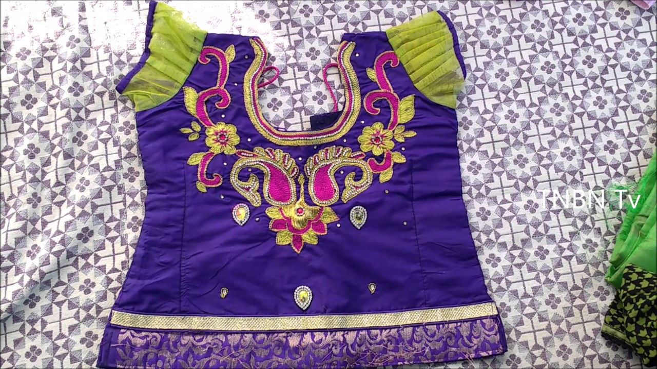 How To Make Maggam Work Blouse Designs Maggam Work Tutorial For