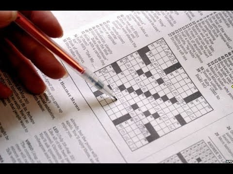 CRYPTIC CROSSWORDS - WHAT'S THE BIG DEAL ? BBC NEWS