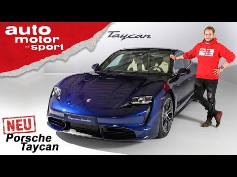 Porsche Taycan (2019): Erster Innenraum-Check des E-Sportlers - Review/Sitzprobe |auto motor & sport