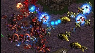 Jaedong (Z) v Goojila (P) on Aztec - StarCraft  - Brood War REMASTERED
