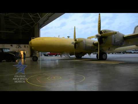 Repositioning the B-29 at the Strategic Air & Space Museum