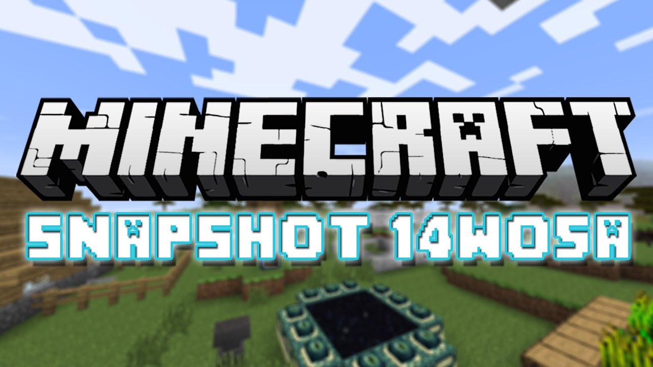 Minecraft: Snapshot 14w05a - Invisible Blocks, Enderman Vision, Spectator  Mode, and More!