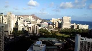 UFOs over Diamond-Head, waikiki, hawaii