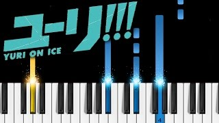 Yuri on Ice - History Maker - Piano Tutorial - How to play History Maker - ユーリ!!! on ICE