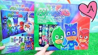 Dos sets para jugar con actividades de PJ Masks | Muñecas y juguetes con Andre para niñas y niños