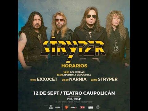 """STRYPER """"In God with trust"""" Teatro Caupolicán, SANTIAGO DE C"""