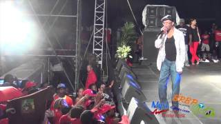 Beres Hammond LIVE: I FEEL GOOD in Dominica