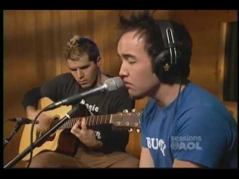 Hoobastank-The Reason (acoustic) Sessions@AOL