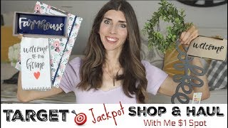 TARGET SHOP WITH ME + HAUL | Dollar Spot Jackpot Haul | Momma From Scratch