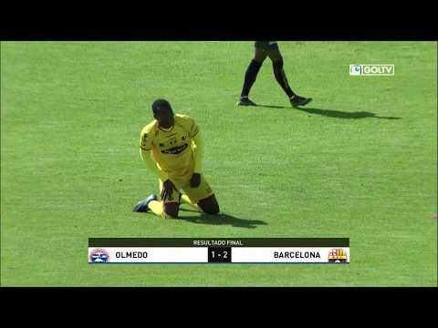 Olmedo 1:2 Barcelona