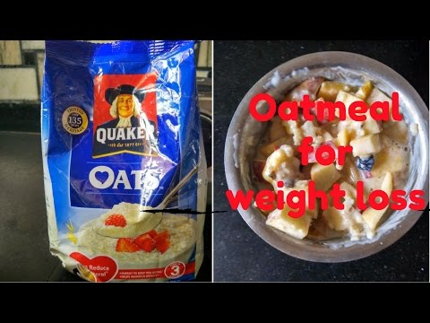 Oats recipe for weight loss ( healthy breakfast ideas in 5 minutes)
