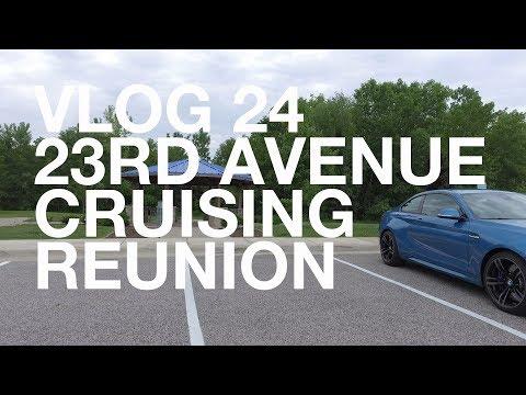 2017 23rd Avenue Reunion Cruise Event At Moline, Illinois