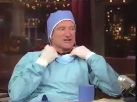 Robin Williams funniest interview with Letterman