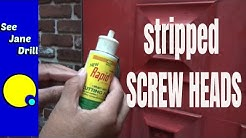 How to Remove Damaged and Rusted Screws FAST